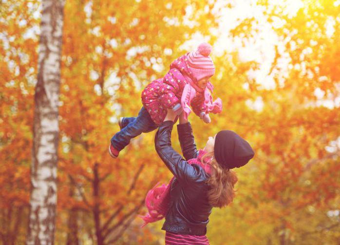 осенняя фотосессия в лесу с детьми