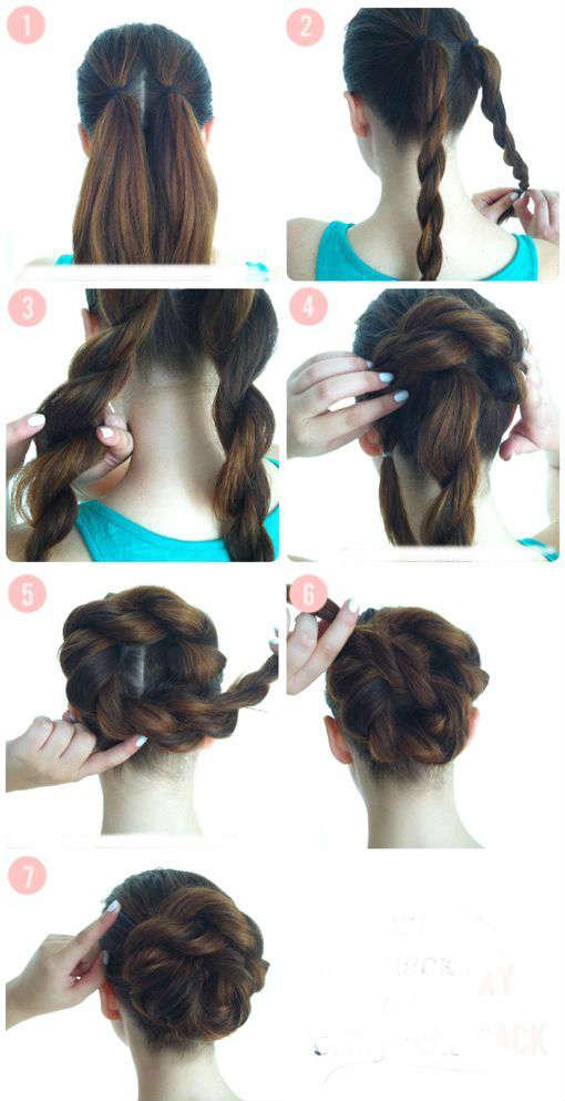 Как легко сделать прическу из длинных волос