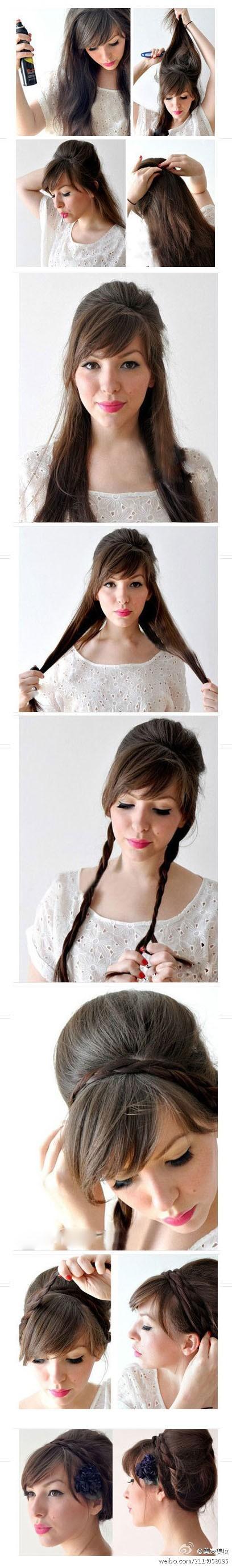 Простые прически для коротких волос в домашних условиях с фото
