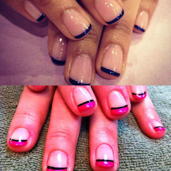 Примеры маникюра гель лаком на короткие ногти