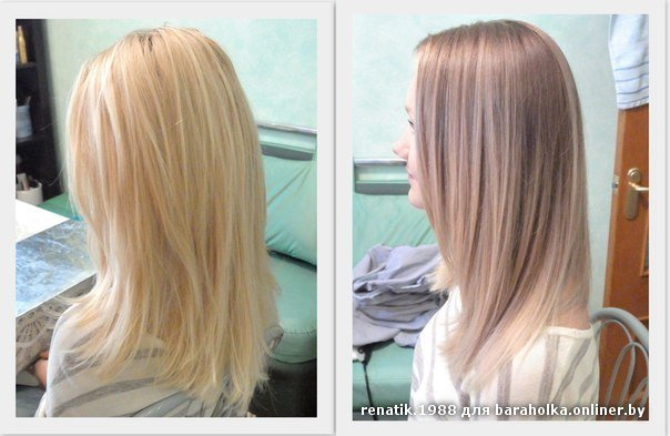 Постельное тонирование волос