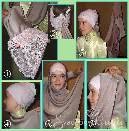 Как сшить хиджаб своими руками фото 40