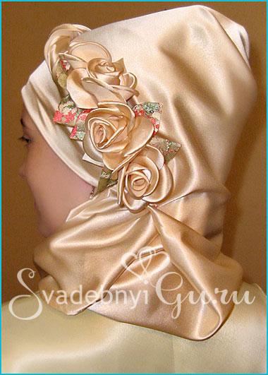 Красиво завязываем платок (хиджаб)