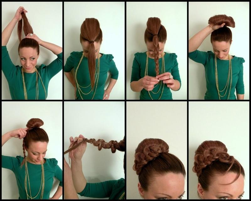Лёгкие и простые причёски своими руками
