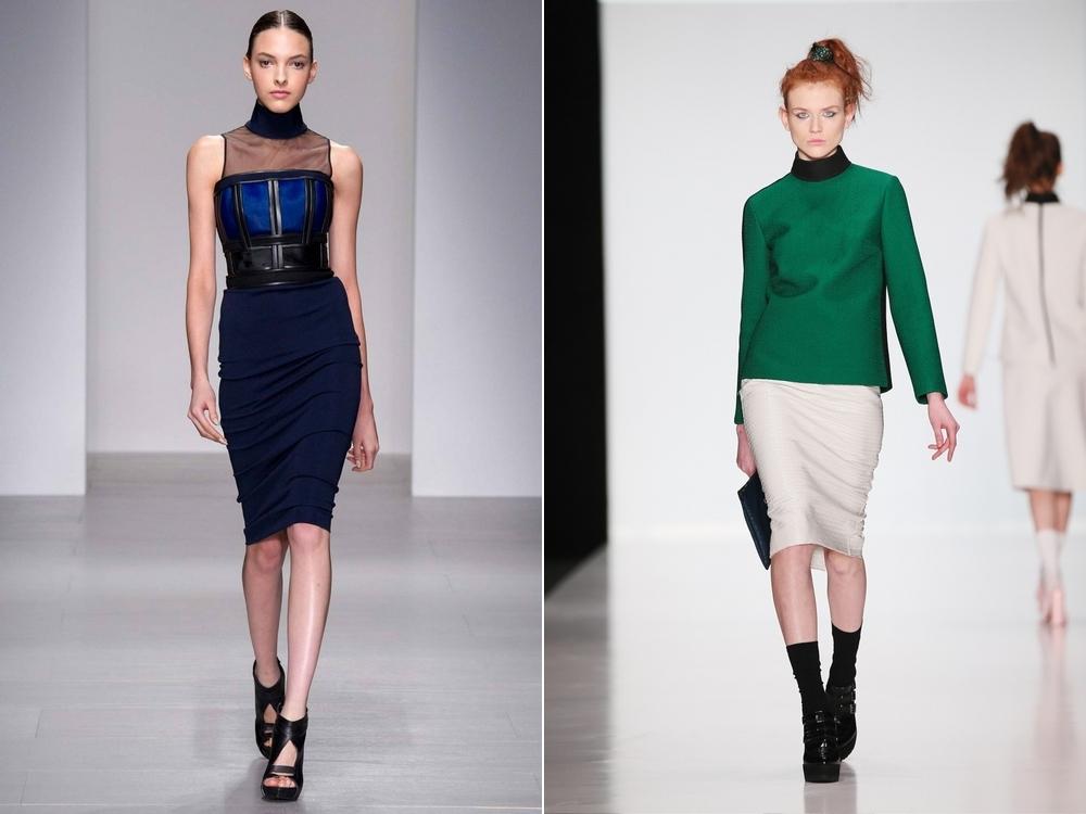 Модный Юбки 2013