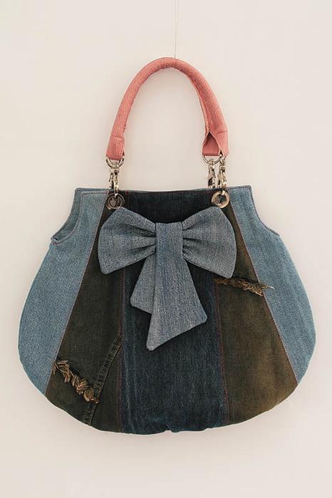 Шьем из старых сумок