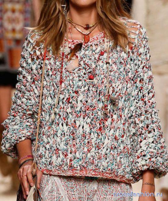 Модная весна в вязании