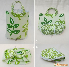 60a599c59077 Стильные и удобные сумки из ткани своими руками: мастер-класс по пошиву